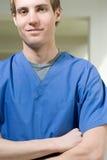 męska pielęgniarka Obraz Stock