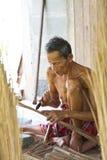 Męska starsza miotła Zdjęcie Royalty Free