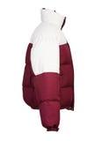 Męska zimy kurtka odizolowywająca Zdjęcia Royalty Free