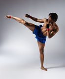 Męski bokserski wojownik Zdjęcie Royalty Free