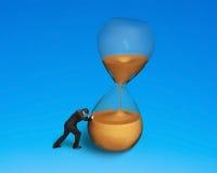 Męski dosunięcie plandeki hourglass obrazy royalty free
