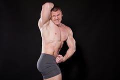 Męski mężczyzna bodybuilder Obraz Royalty Free