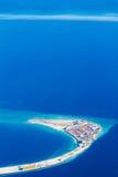 Męski ` miasto - kapitał Maldives Obraz Royalty Free