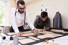 Męski projektanta mody robić Odziewa Obraz Royalty Free