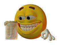 męski smilie Obrazy Royalty Free