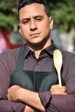 Męski szef kuchni Lub Cook zdjęcie royalty free