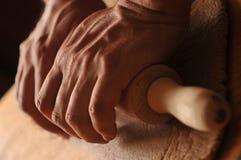 Męskie piekarz ręki Obrazy Stock