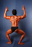 Męskiego ciała budowniczy zdjęcie royalty free