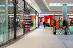 mętny twarzy wnętrza ogólnego lobby centrum handlowym zakupów główny widok Obraz Royalty Free