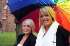 młodą dwie kobiety Zdjęcia Royalty Free