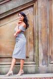 Młoda Amerykańska kobiety moda w Nowy Jork fotografia stock