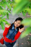 Młoda azjatykcia kobieta Obraz Royalty Free