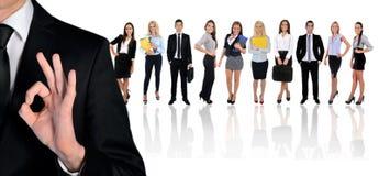 Młoda biznes drużyna zdjęcie stock