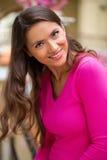 Młoda brunetki kobieta zdjęcia royalty free