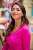 Młoda brunetki kobieta zdjęcia stock