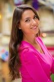 Młoda brunetki kobieta fotografia royalty free