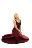 Młoda blond kobieta Fotografia Stock