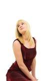Młoda blond kobieta Zdjęcie Stock