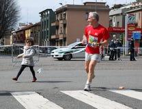 Milano miasta maraton Fotografia Stock