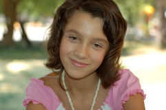 młoda dziewczyna portret Obrazy Royalty Free