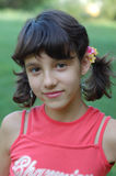 młoda dziewczyna portret Obraz Royalty Free