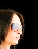 Młoda dziewczyna z okulary przeciwsłoneczne Fotografia Royalty Free