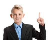 Młoda genious uczeń chłopiec Fotografia Stock