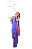 Młoda Indiańska kobieta Obraz Royalty Free