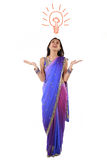 Młoda Indiańska kobieta. Obraz Stock