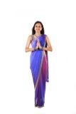 Młoda Indiańska kobieta Obrazy Royalty Free