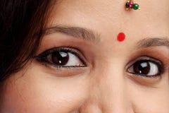 Młoda Indiańska kobieta Obraz Stock