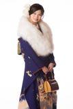 Młoda Japońska dziewczyna w kimonie Zdjęcie Royalty Free
