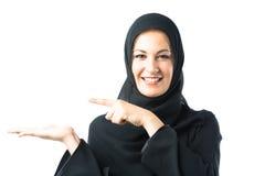 Młoda Kobieta Jest ubranym Tradycyjną Arabską odzież zdjęcie stock