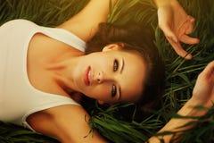 Młoda Kobieta portret Zdjęcia Stock