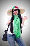 Młoda kobieta przygotowywająca Fotografia Stock