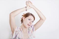 Szczęśliwy sukces Fotografia Stock