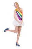 Młoda kobieta w modzie Obrazy Royalty Free