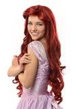 Młoda Kobieta w Princess kostium obraz royalty free