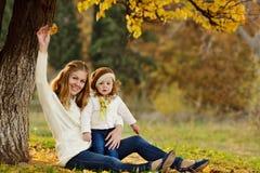 Młoda kobieta z córką Obraz Royalty Free