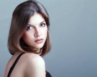 Młoda kobieta z fantazja makijażem Obrazy Stock