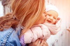 Młoda kobiety matka fotografia stock