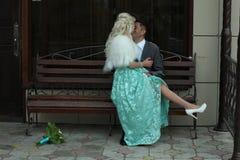 Młoda kochająca para Zdjęcie Royalty Free