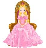 Młoda królowa Zdjęcia Royalty Free
