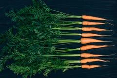 Młoda marchewka Gotować z świeżymi warzywami Obraz Royalty Free