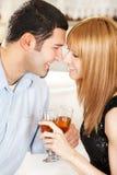 młoda miłość pary Obraz Stock