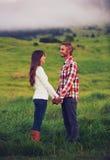 młoda miłość pary Fotografia Stock