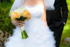 Młoda para małżeńska obrazy royalty free