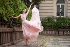 Młoda piękna balerina Zdjęcie Royalty Free
