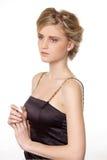 Młoda piękna blond kobieta fotografia royalty free