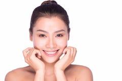 Młoda piękna kobieta z dnia makeup Obrazy Royalty Free